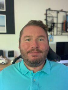 Portretfoto van Frank, voorzitter Stichting Dromen voor Duchenne.